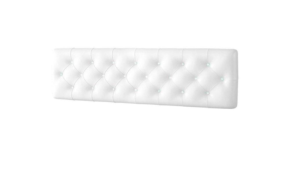 Декоративные панели: Панель головной спинки кровати 1,8 с кристалами Swarovski Белла Вайт в Стильная мебель