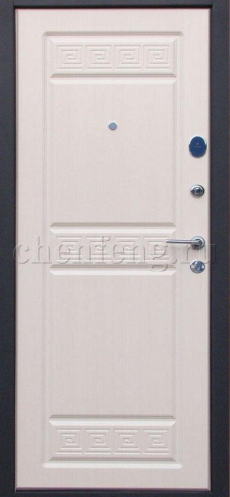 Двери серии Стандарт: Афины - Черный шелк Белёный дуб в Модуль Плюс