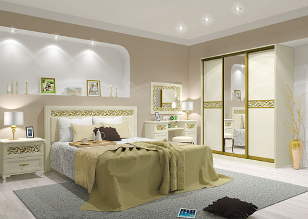 Спальни: Спальня Ливадия. Комплект 1 в Диван Плюс