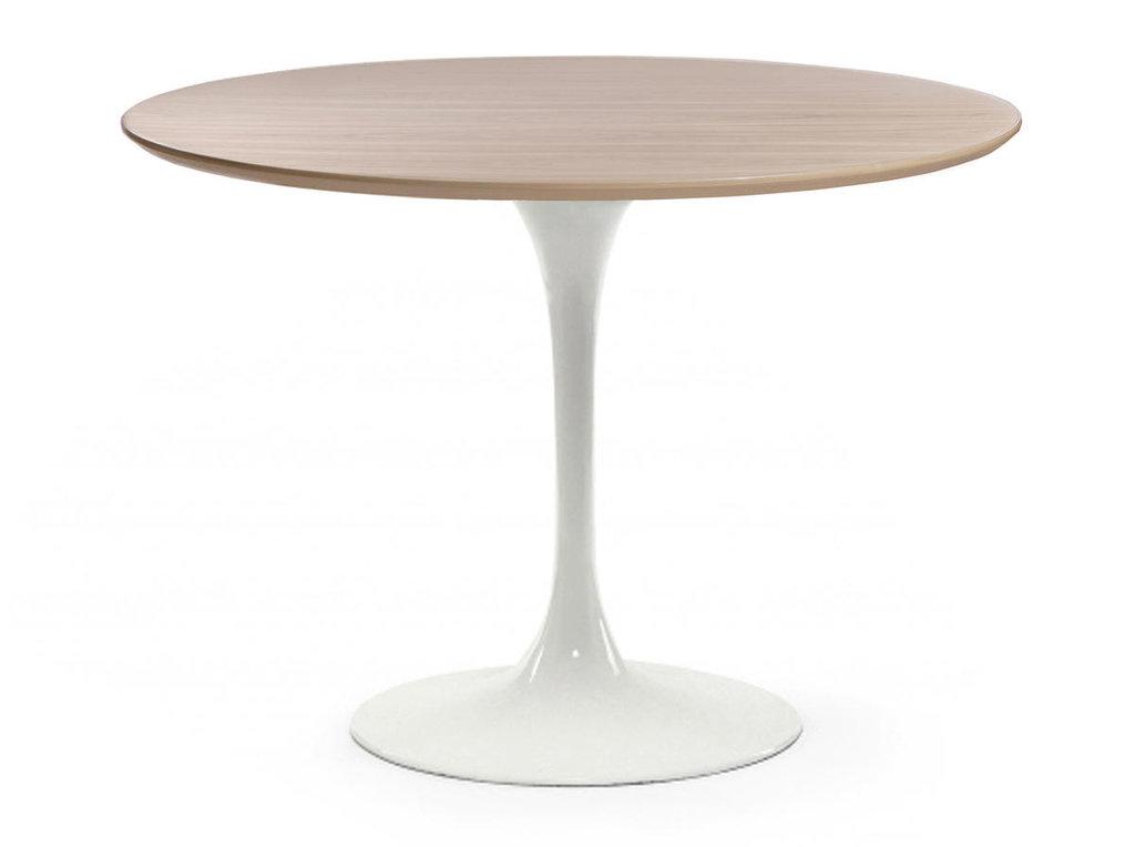 Столы обеденные: Стол обеденный Априори T круглый 100 см 13т бук в Актуальный дизайн