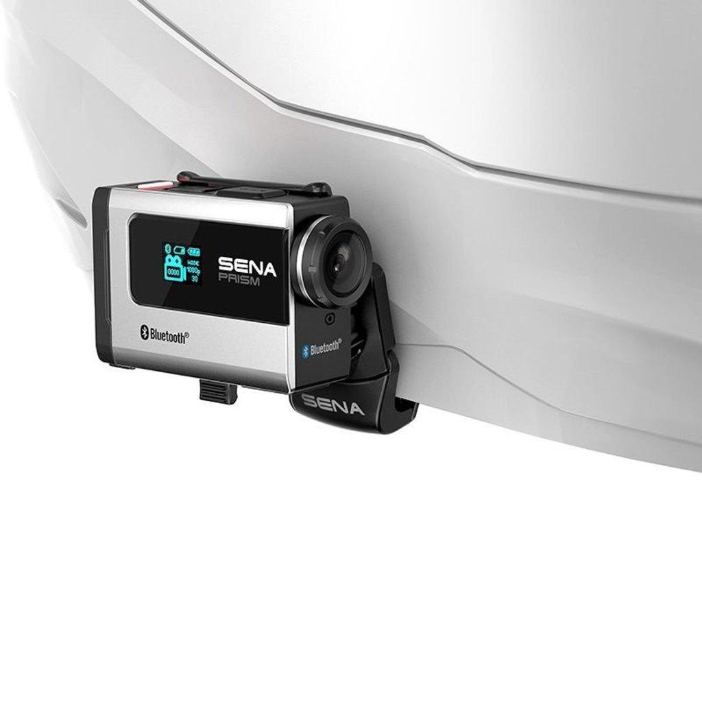 Экипировка и аксессуары: ЭКШН-Камера Bluetooth SENA PRISM SCA-M01 в Базис72