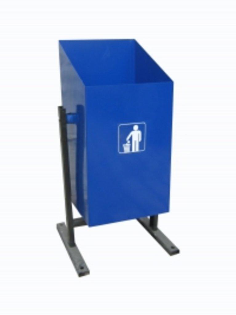 Уличные мусорные урны, урны-пепельницы: Урна уличная, 20 литров в Меркурий
