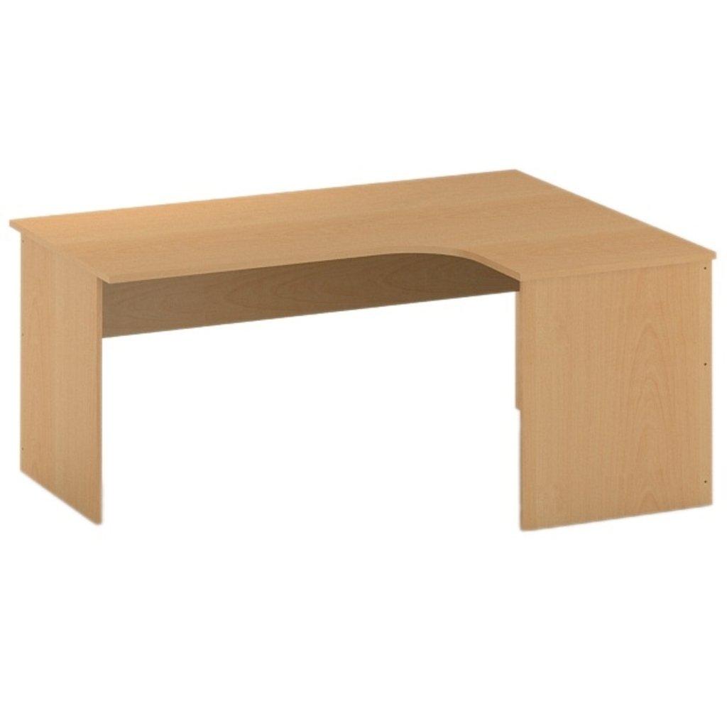 Офисная мебель столы, тумбы Р-16: Стол угловой левый (16) 1600*1200*750 в АРТ-МЕБЕЛЬ НН