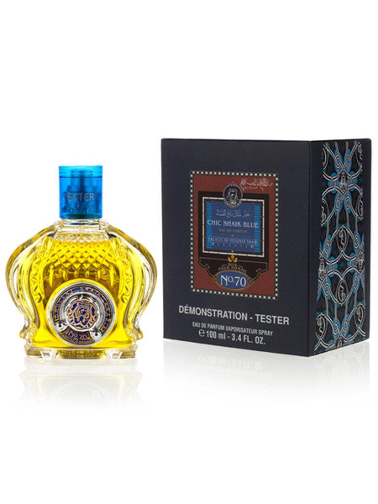 Арабская парфюмерия: SHAIK, CHIC SHAIK BLUE № 70,  (МУЖ) в Мой флакон