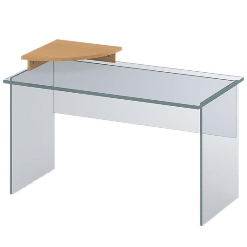 Офисная мебель столы, тумбы ПР-26: Подставка под монитор (26) 450*450*100 в АРТ-МЕБЕЛЬ НН