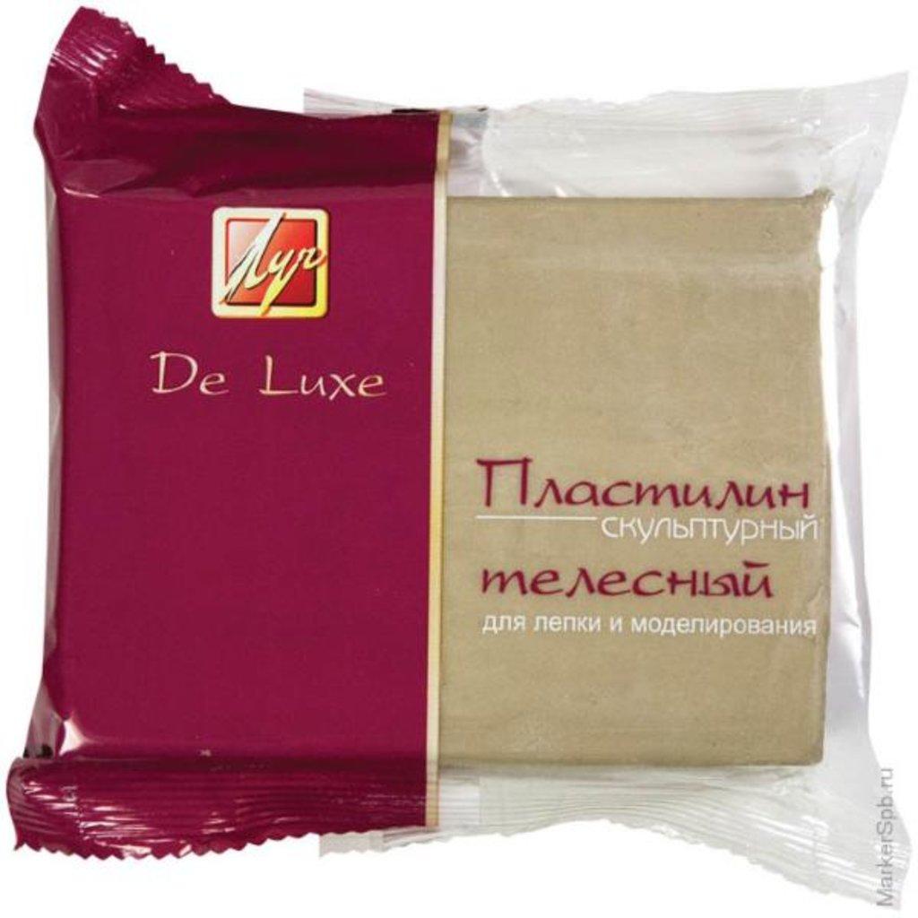 """Лепка: Пластилин скульптурный """"Луч"""" телесный в Палитра"""