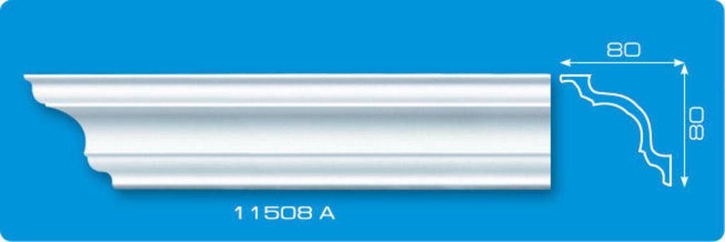 Плинтуса потолочные: Плинтус потолочный ЛАГОМ 11508 А экструзионный длина 2м в Мир Потолков