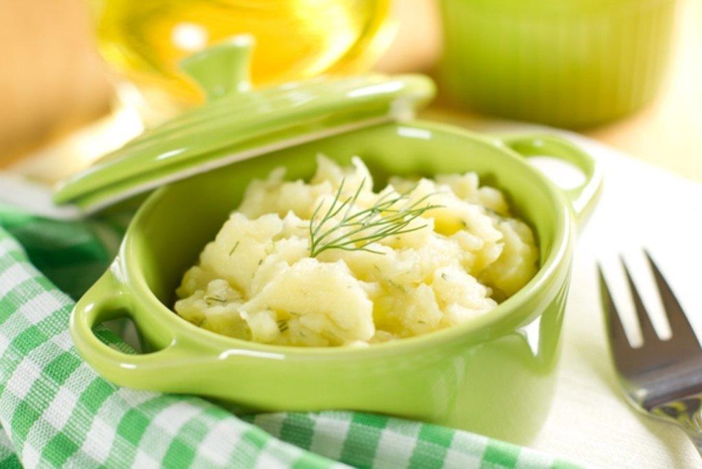 Гарниры: Пюре картофельное в Смак-нк.рф