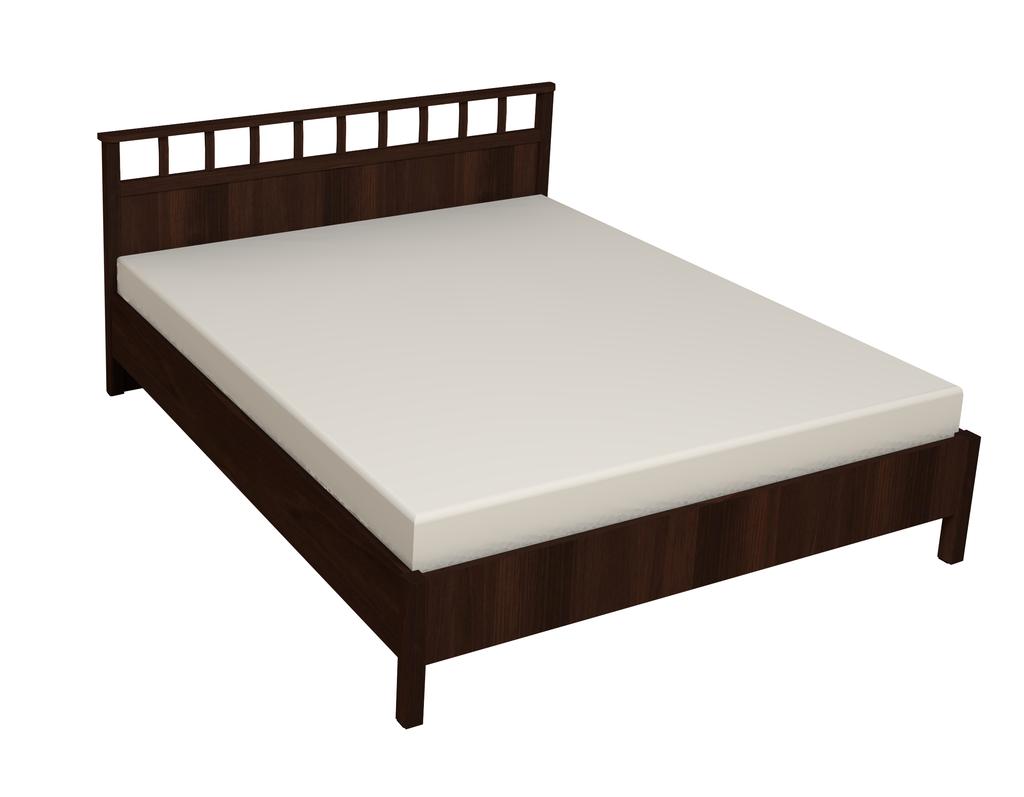 Кровати: Кровать Люкс Sherlock 46 (1800, орт. осн. дерево) в Стильная мебель