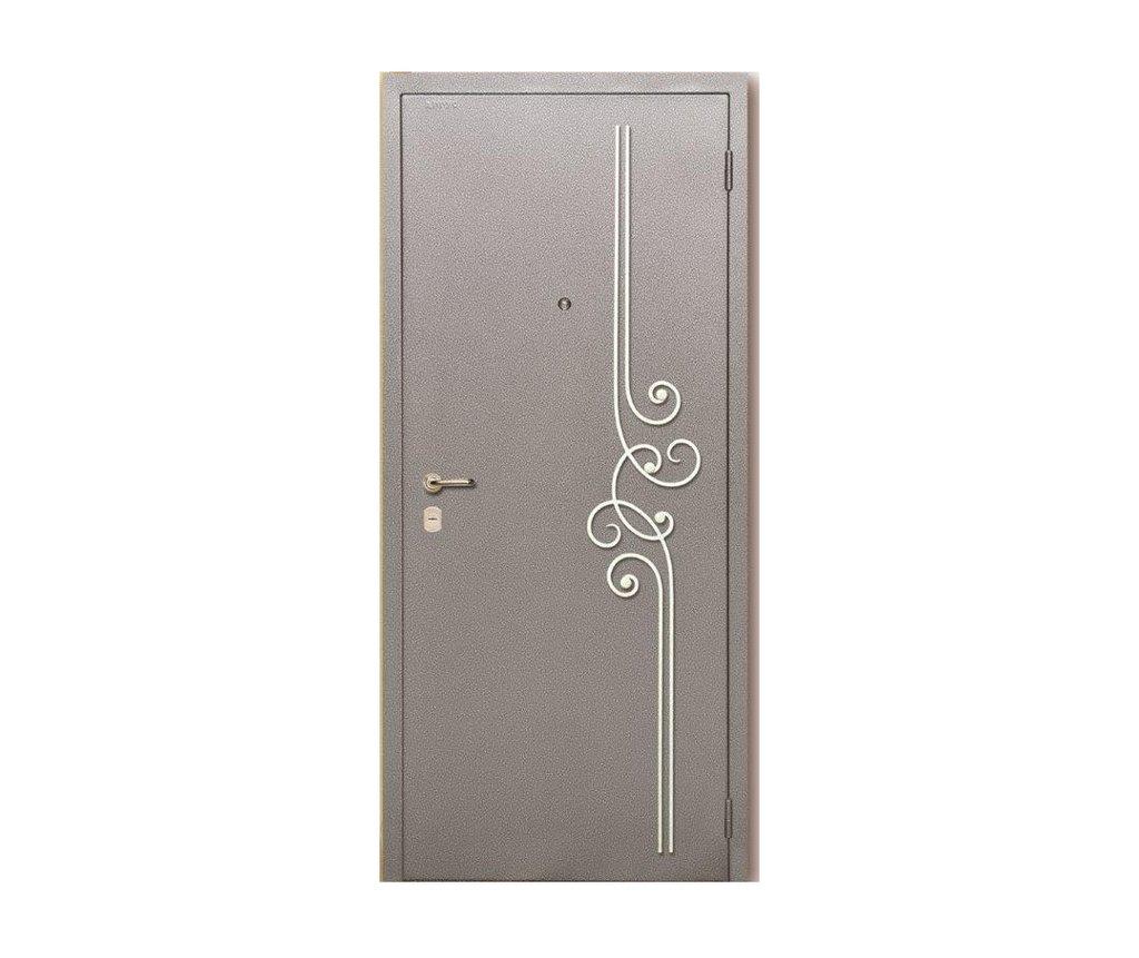 Стальные двери: Металлическая дверь Люкс 1 в Мир дверей