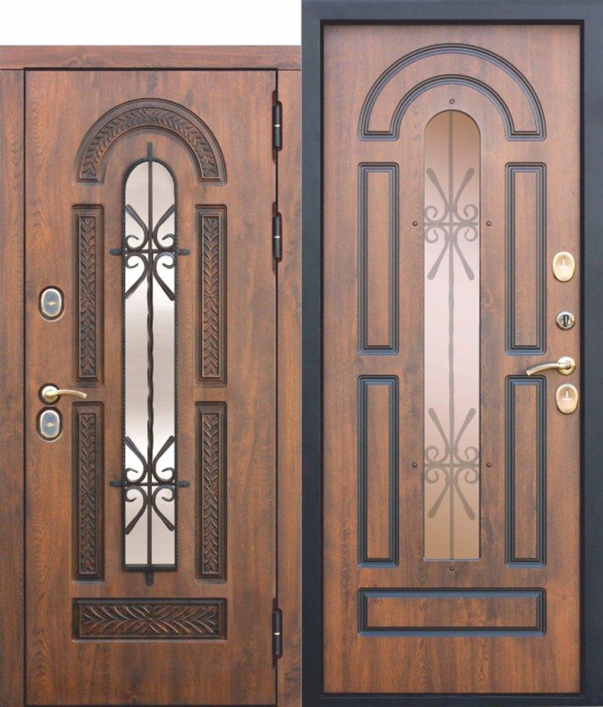 Входные двери (элит) от 110-130мм: Входная морозостойкая дверь c ТЕРМОРАЗРЫВОМ 13 см VITRA Винорит Патина (Израиль) в STEKLOMASTER