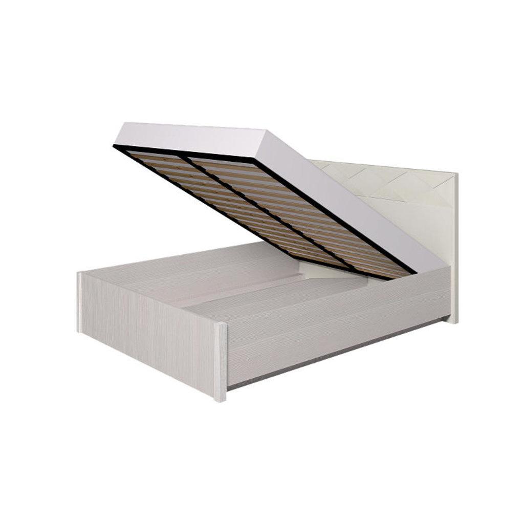 Кровати: Кровать Люкс Бриз 38.2 (1400, мех. подъема) в Стильная мебель
