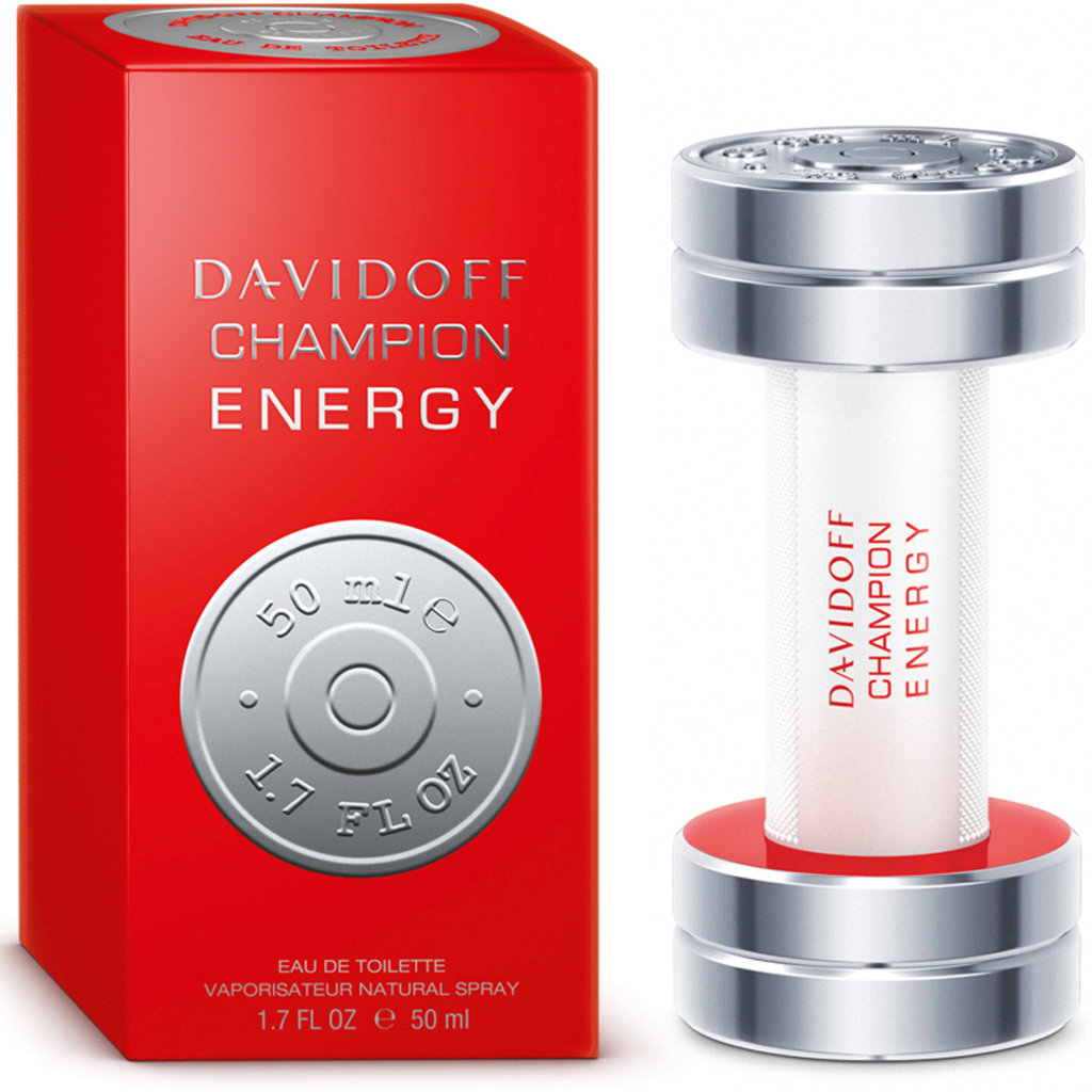 Davidoff: Туалетная вода Davidoff Champion Energy edt м 50 ml в Элит-парфюм