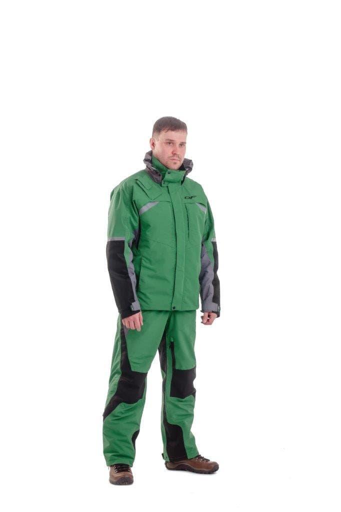 Экипировка и аксессуары: Куртка мембранная QUAD Green 400117 , 400118 в Базис72