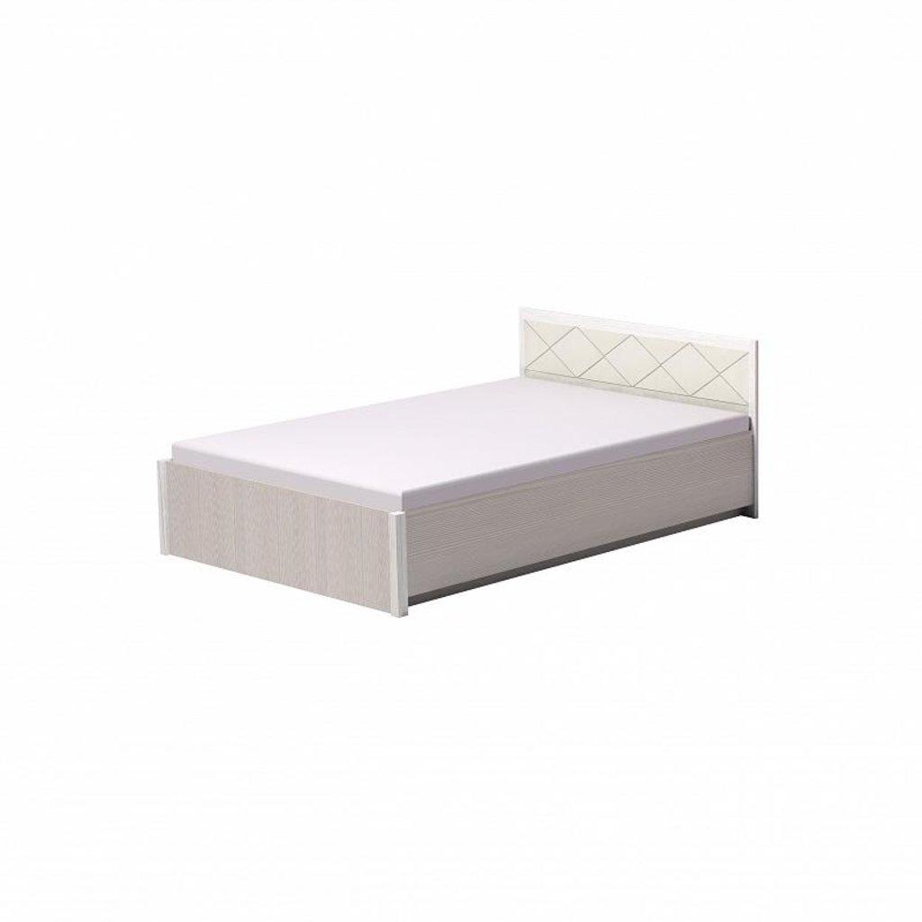 Кровати: Кровать Марсель 33 (1400, орт. осн. металл) в Стильная мебель
