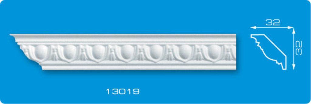 Плинтуса потолочные: Плинтус потолочный ФОРМАТ 13019 инжекционный длина 1,3м, узкий в Мир Потолков