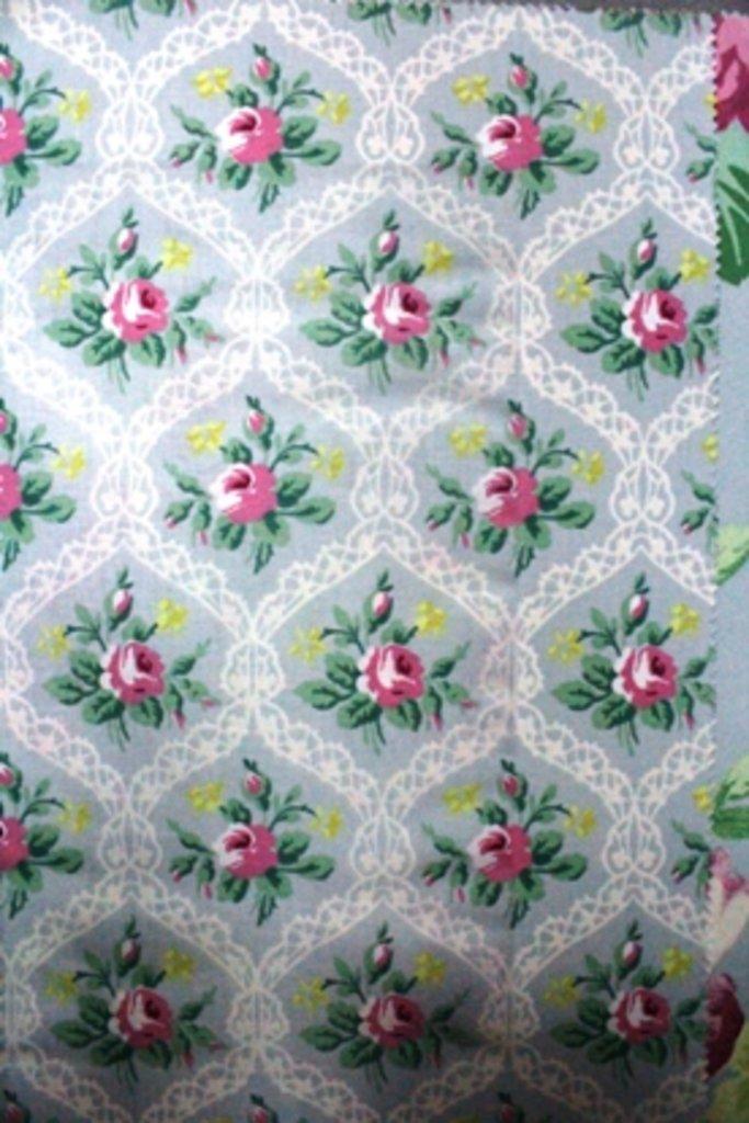 Портьерные ткани: Tea garden в Салон штор, Виссон