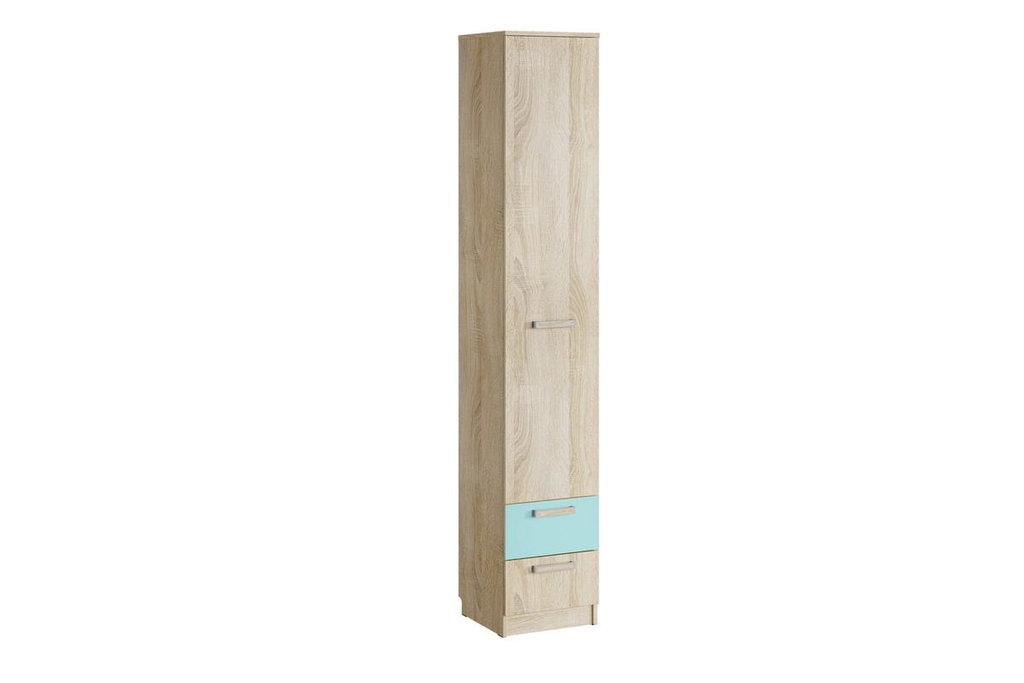 Детские шкафы и стеллажи: Шкаф для белья с ящиками НМ 013.01-02 М Акварель в Стильная мебель