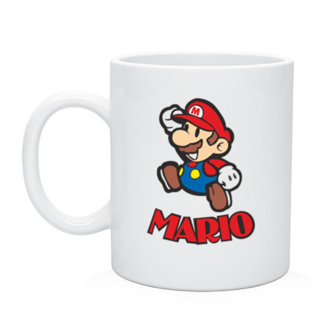 """Выбери готовый дизайн для любой кружки-заготовки: Кружка """"Марио"""" в NeoPlastic"""