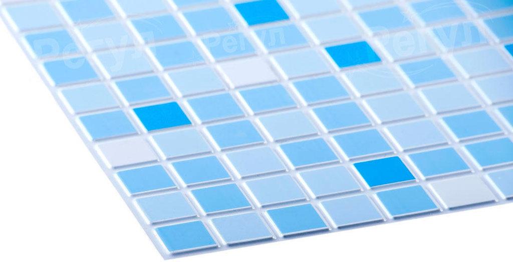 Панели ПВХ: Мозаика Голубой микс в Мир Потолков