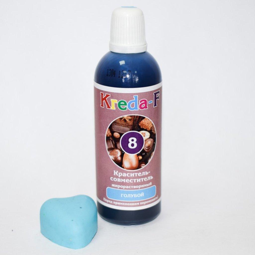 Пищевые красители: Краситель для шоколада жирорастворимый, Голубой Kreda-F 20г в ТортExpress