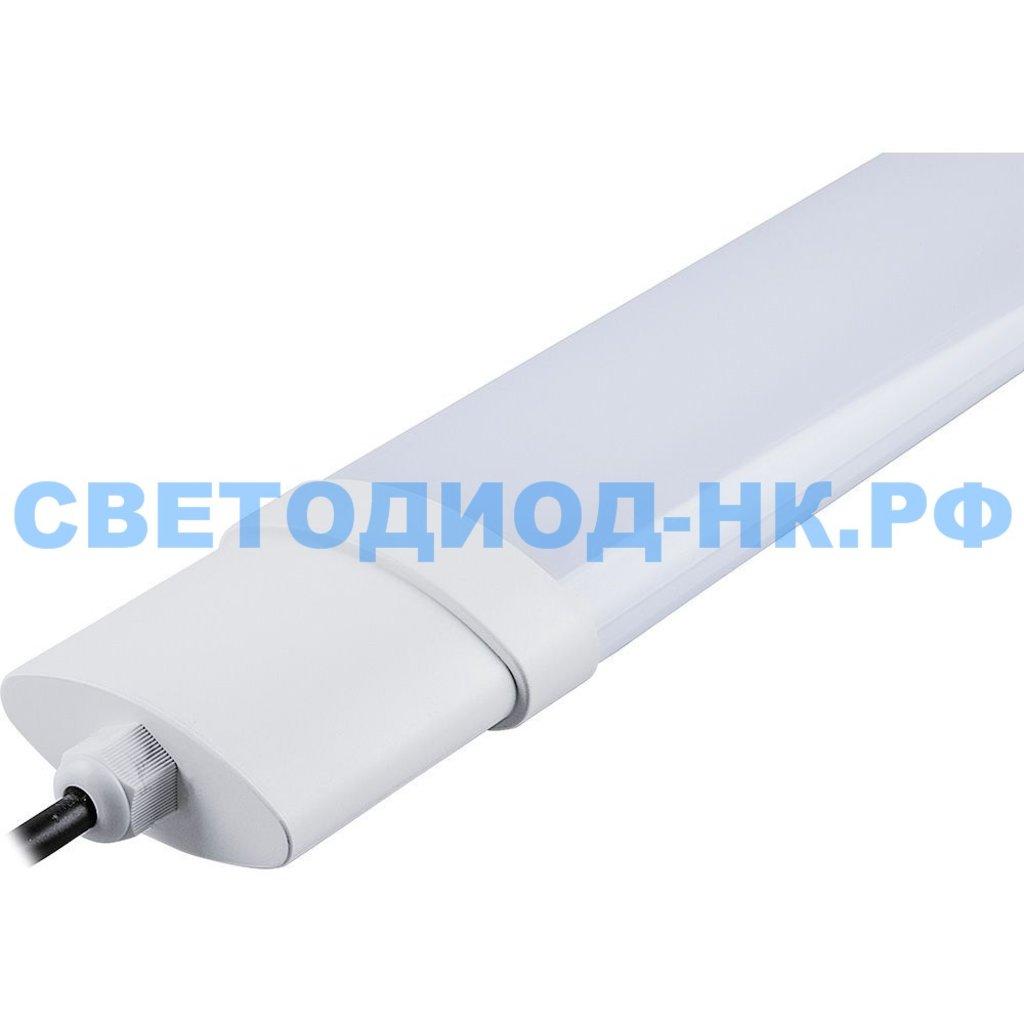 Линейные светильники: Светодиодный светильник AL5090 36W 3100Lm 4000K, в пластиковом корпусе, 1235*65*35мм Без соединения в линию в СВЕТОВОД