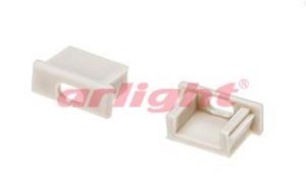 Алюминиевый профиль: Заглушка для MIC с отверстием в СВЕТОВОД