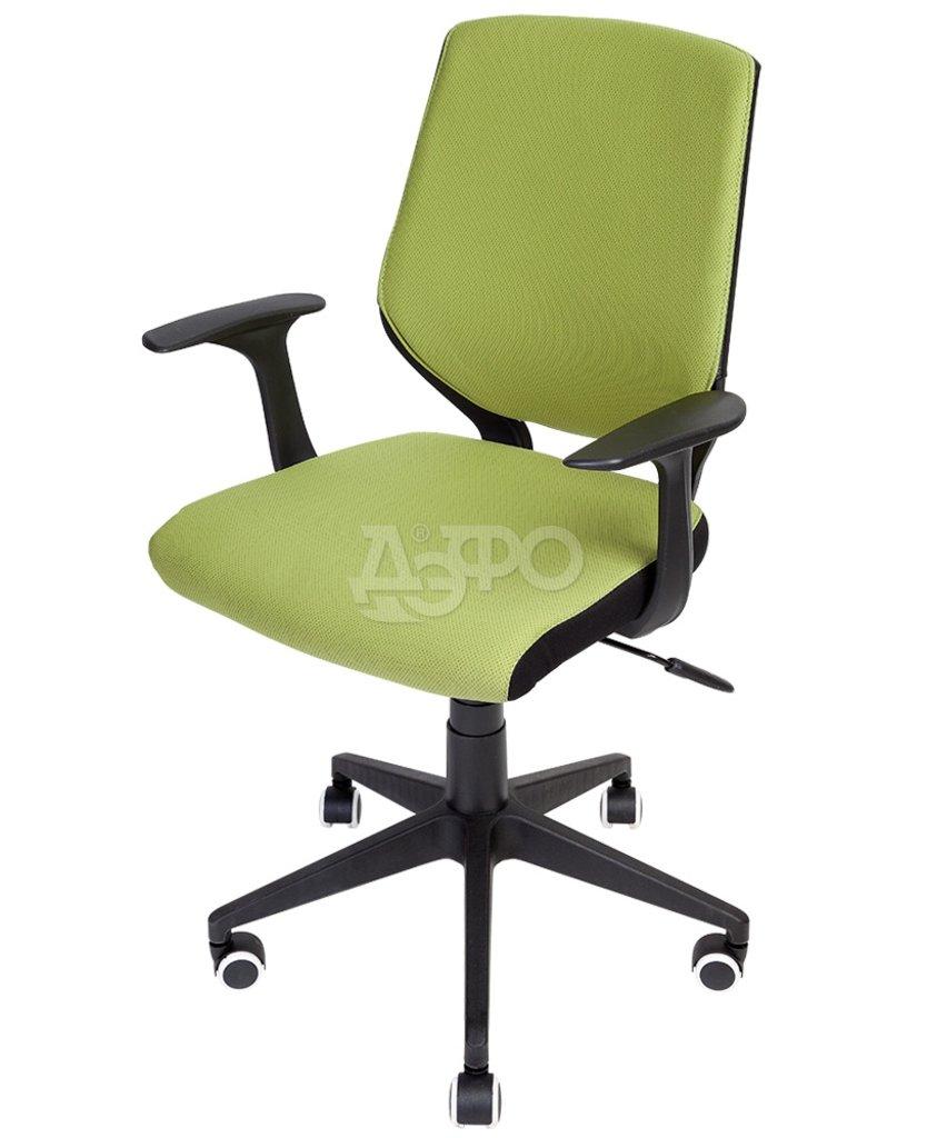 Рабочие кресла: КРК КРЕСЛО BETA (EX-309B) (B01) (ткань, зеленый/черный пластик) в Дэфо Красноярск