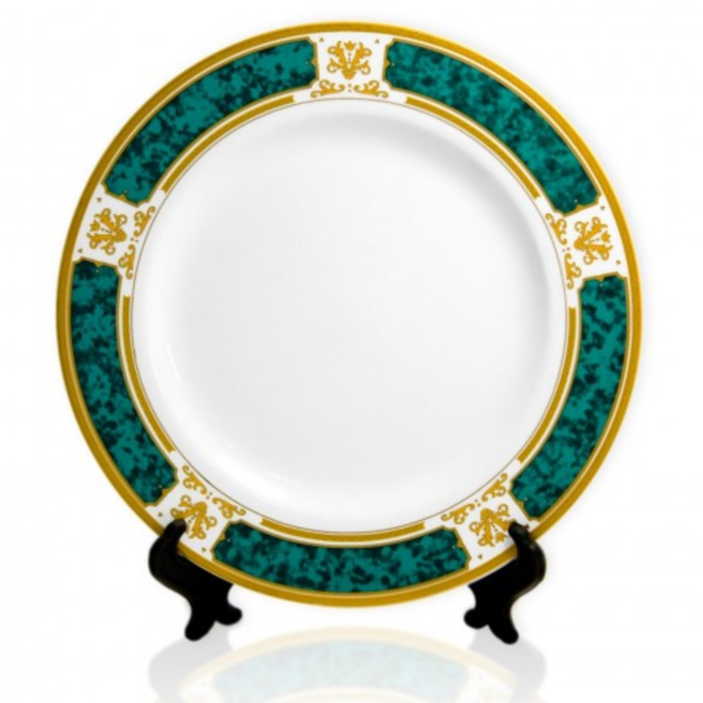 Тарелки и керамическая плитка: Тарелка с орнаментом в NeoPlastic