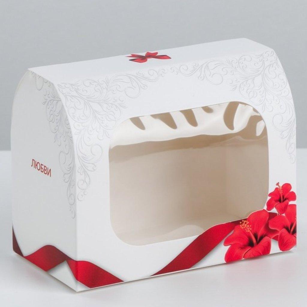 Коробки для кондитерских изделий: Коробка под конфеты «Поздравляю», 14 × 10 × 8 см в ТортExpress