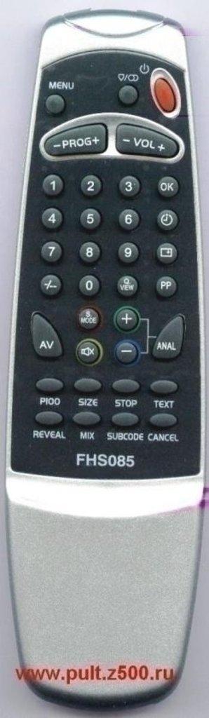 SITRONICS: Пульт SITRONICS FHS085(TV SB2139) HUAYU в A-Центр Пульты ДУ