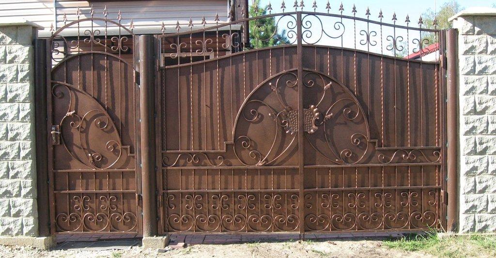 Металлоконструкции: Металлические ворота в Металл Вологда
