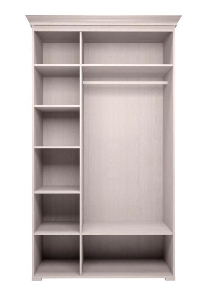 Шкафы для одежды и белья: Шкаф для платья и белья 3-х дв без зеркала 06 Афродита без карниза в Стильная мебель