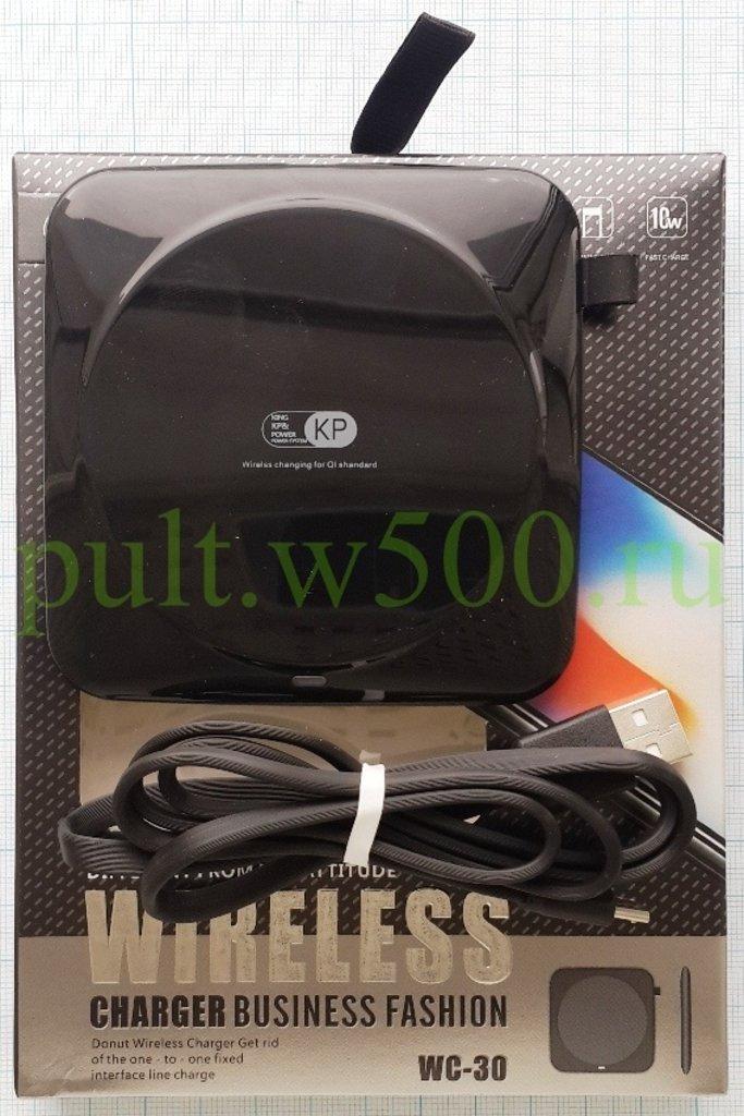 Беспроводные ЗУ для  смартфонов: ЗУ Беспроводное чёрное ( WC-30 ) в A-Центр Пульты ДУ