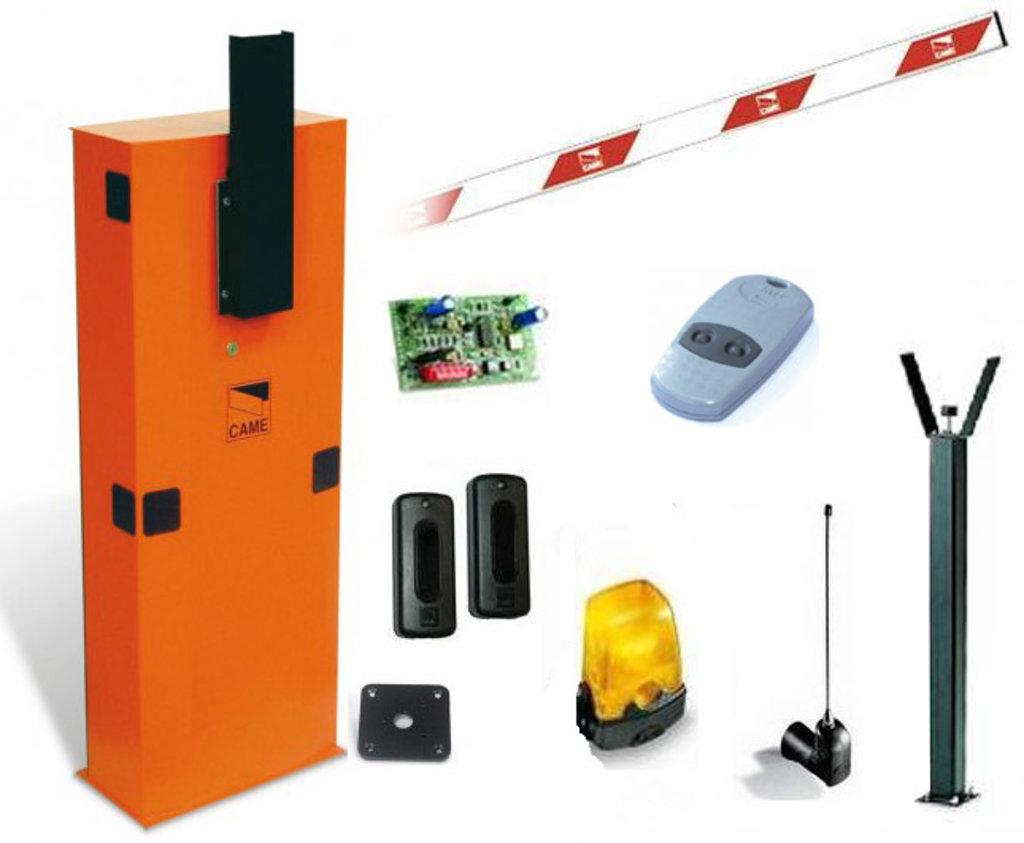 Шлагбаум: Шлагбаум CAME GARD 6000X COMBO в Микровидео