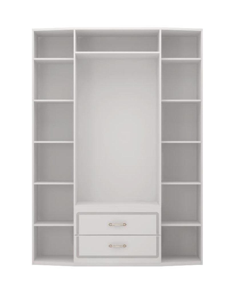 Шкафы для одежды и белья: Шкаф для одежды 4-х дв с ящик (б/зерк) (02) Виктория в Стильная мебель