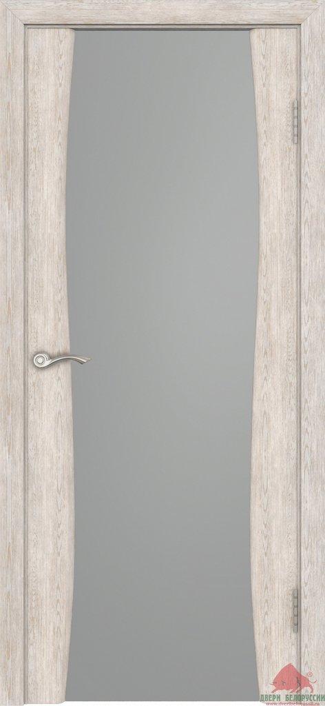 Двери Белоруссии экошпон: Плаза (Нанофлекс белый ясень) в STEKLOMASTER