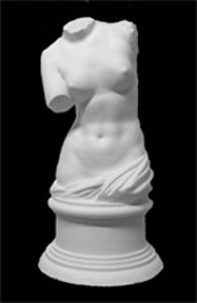 Гипсы: Торс Венеры Милосской в Шедевр, художественный салон