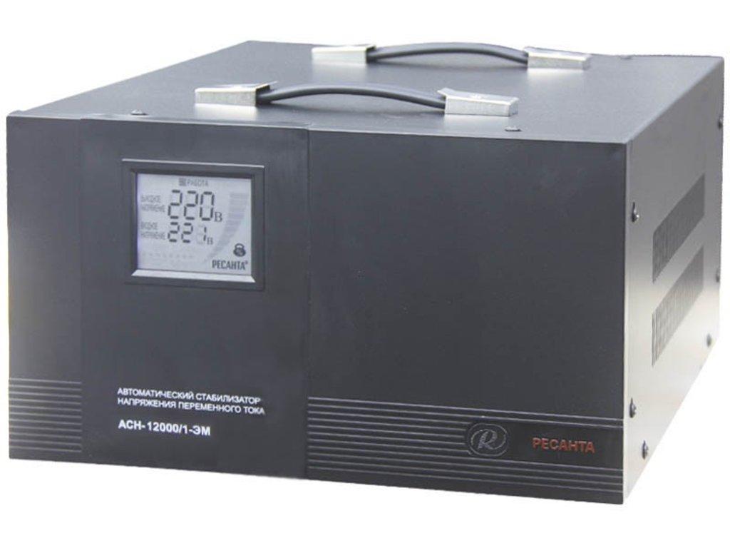 Электромеханического типа: Однофазный стабилизатор электромеханического типа РЕСАНТА АСН-12000/1-ЭМ в РоторСервис, сервисный центр, ИП Ермолаев Д. И.