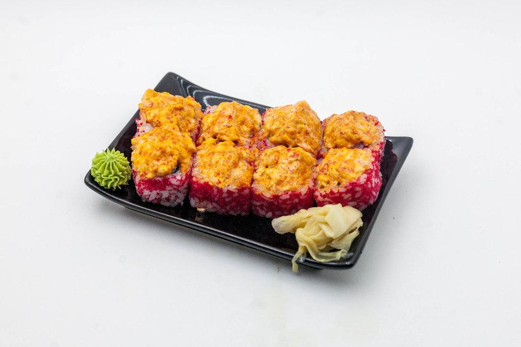 Острые роллы: Ролл острый с лососем в Tokio
