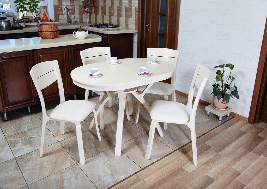 Столы деревянные: Стол Мадрид ОВ 1120 раскладной. в АРТ-МЕБЕЛЬ НН