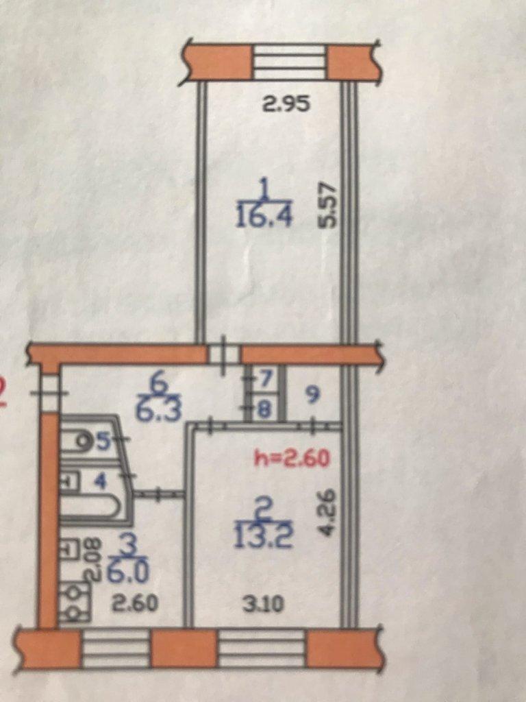 2-комн. квартира: 2-комнатная квартира поселок Тоншалово улица Молодежная дом 3 в Перспектива, АН