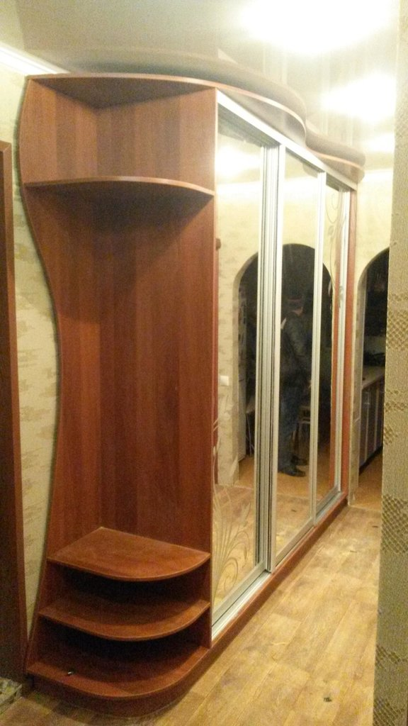 Шкафы-купе: Шкаф-купе 1 в Квадра Мебель