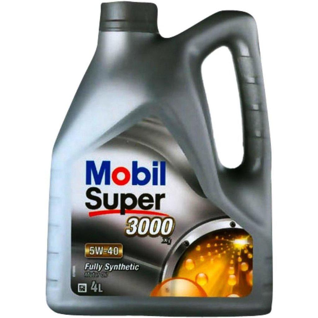 Автомасла Mobil: Mobil SUPER 3000 X1 5W-40 (4.0 л х 4) в Автомасла71