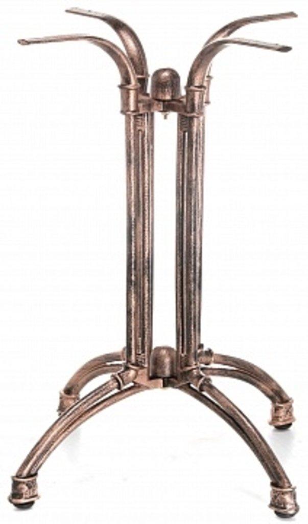Подстолье, опоры: Подстолье 1282ЕМ (чугун) имитация по бронзу в АРТ-МЕБЕЛЬ НН