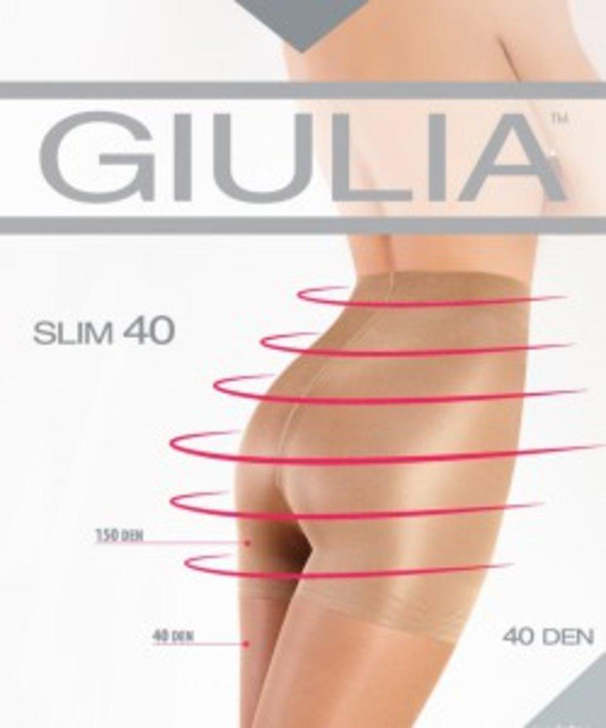 Колготки: Корректирующие (утягивающие) колготки Giulia SLIM 40 в Sesso