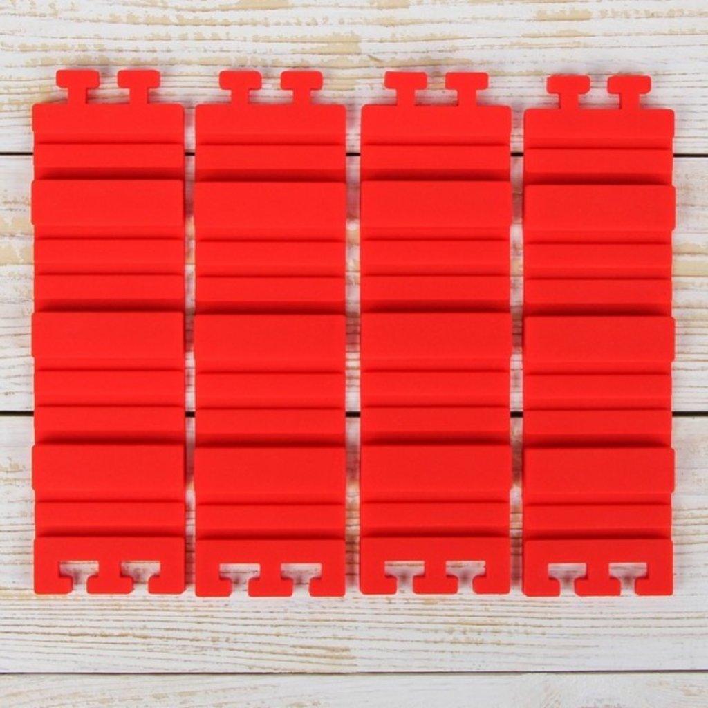 """Инструменты для работы с мастикой: Набор форм для моделирования 19х5,5х0,7 см """"Пазл"""", 4 шт в ТортExpress"""