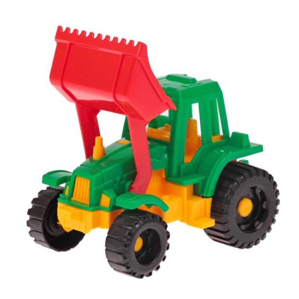 """Игрушки для мальчиков: Трактор  """"Ижора"""" с грейдером в Игрушки Сити"""