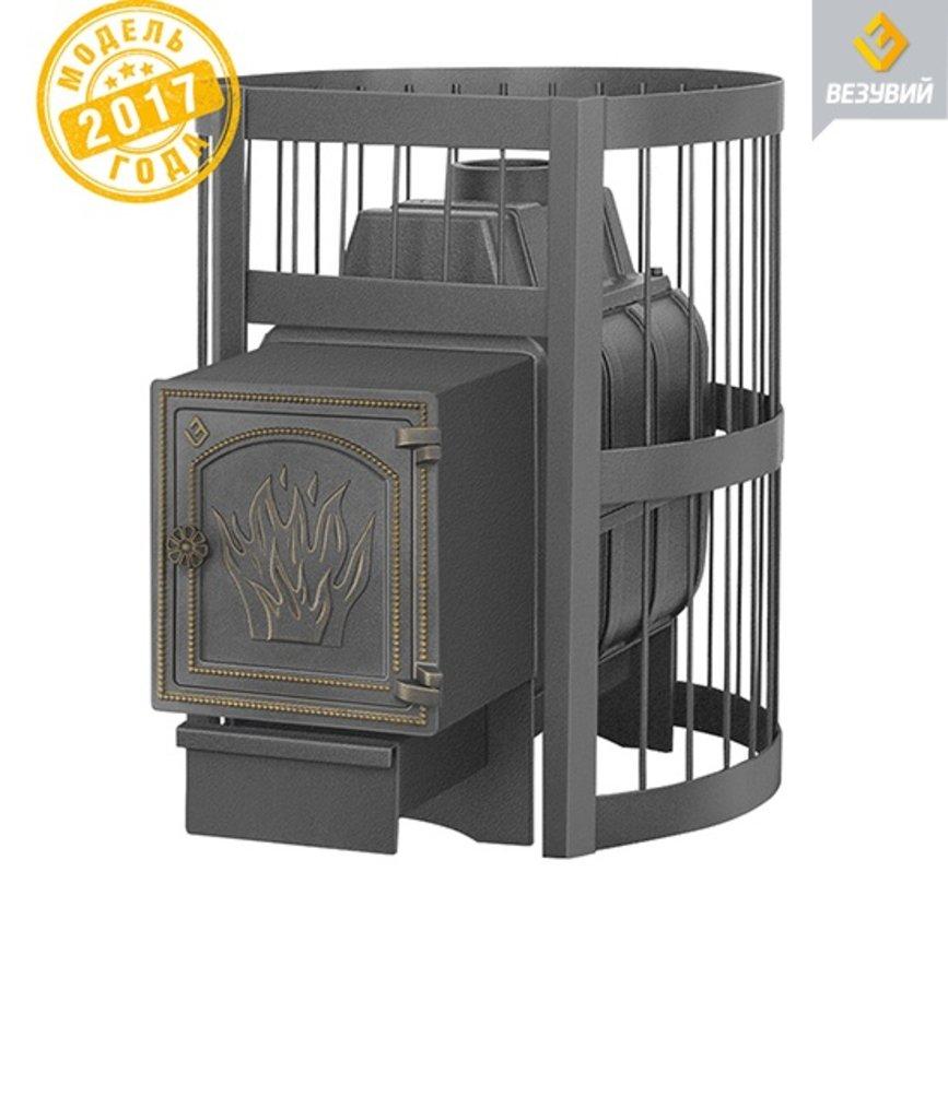 Легенда: Везувий Легенда Стандарт 16 (ДТ-4) чугунная банная печь в Антиль