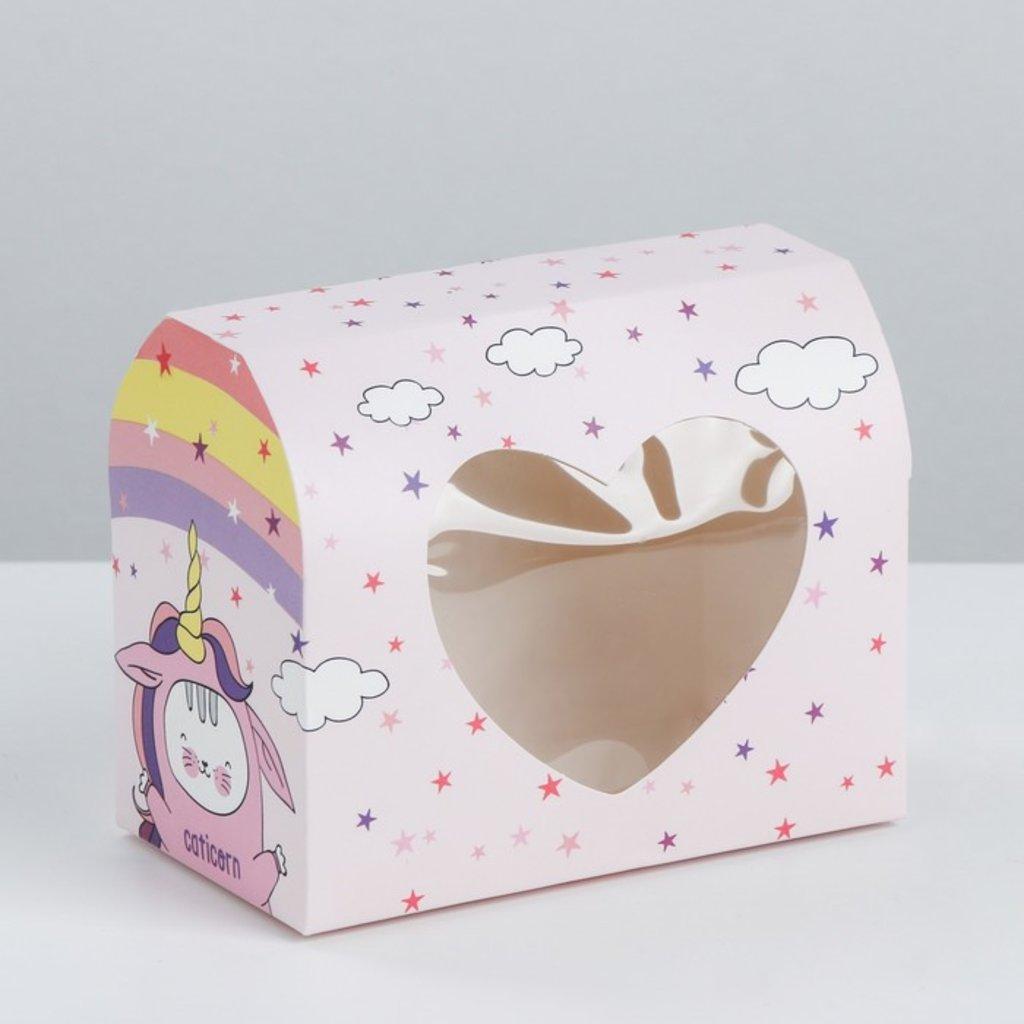 """Коробки для кондитерских изделий: Коробка под конфеты """"Сладенькой жизни"""", 14 × 10 × 8 см в ТортExpress"""